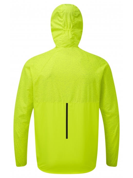 Mens Ronhill Momentum Afterlight Jacket Fluo Yellow-10050