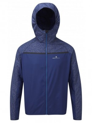 Mens Ronhill Momentum Afterlight Jacket Midnight Blue-0