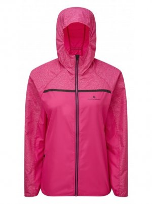 Womens Ronhill Momentum Afterlight Jacket AZALEA-0