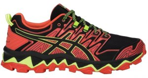Mens Asics Gel-FujiTrabuco 7 Black/Red-0