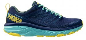 Womens Hoka Challenger ATR 5 Blue/Green-0