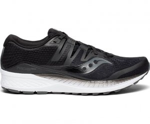Mens Saucony Ride Iso Black-0