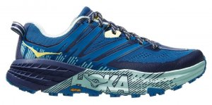 Womens Hoka Speedgoat 3 Blue-0