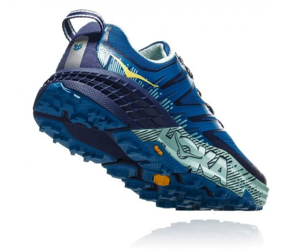 Womens Hoka Speedgoat 3 Blue-9664