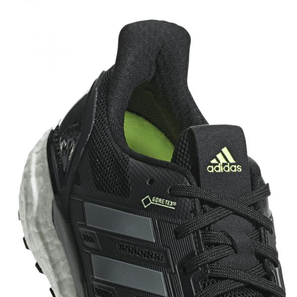 Mens Adidas Supernova GTX Black-9594