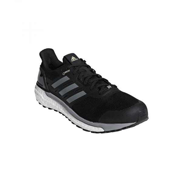 Mens Adidas Supernova GTX Black-9597
