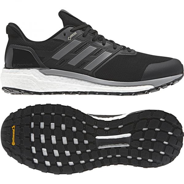 Mens Adidas Supernova GTX Black-9600