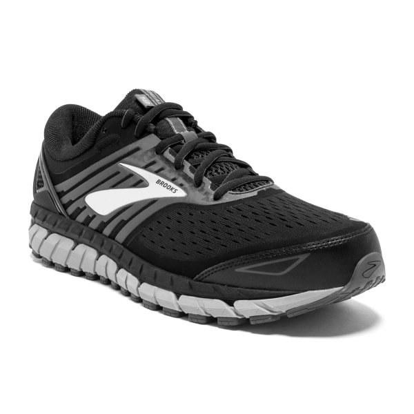 Mens Brooks Beast 18 4E Black-9650