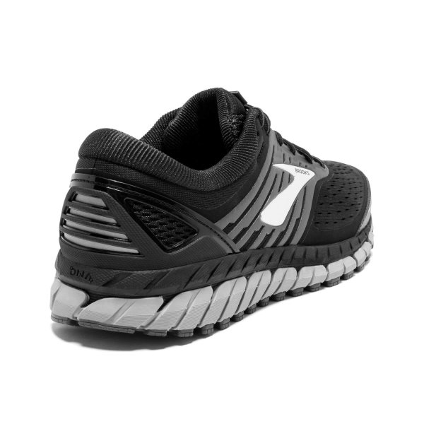 Mens Brooks Beast 18 4E Black-9649