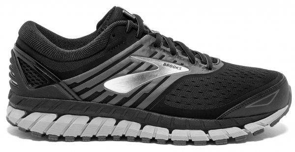 Mens Brooks Beast 18 4E Black-0