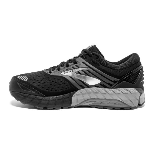 Mens Brooks Beast 18 4E Black-9648