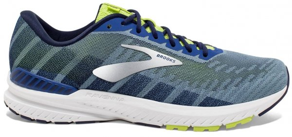 Mens Brooks Ravenna 10 Blue-0