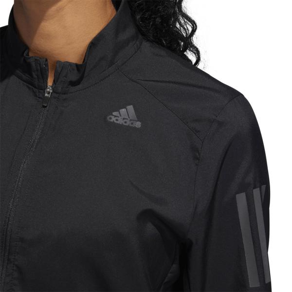 Womens Adidas Own The Run Jacket Black-9563