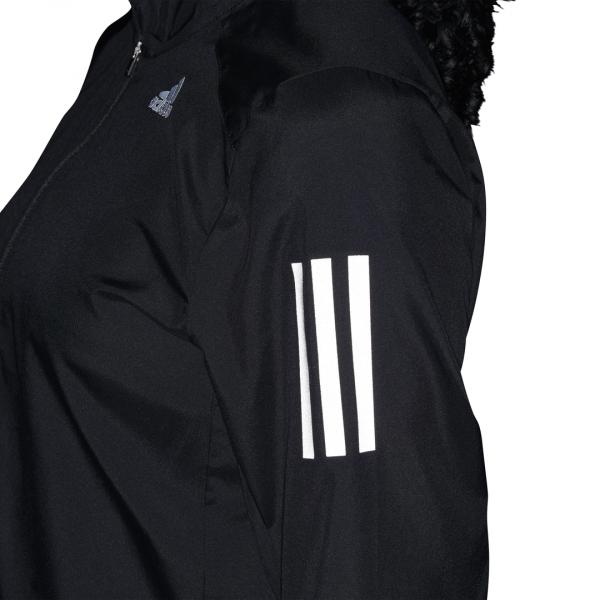 Womens Adidas Own The Run Jacket Black-9564