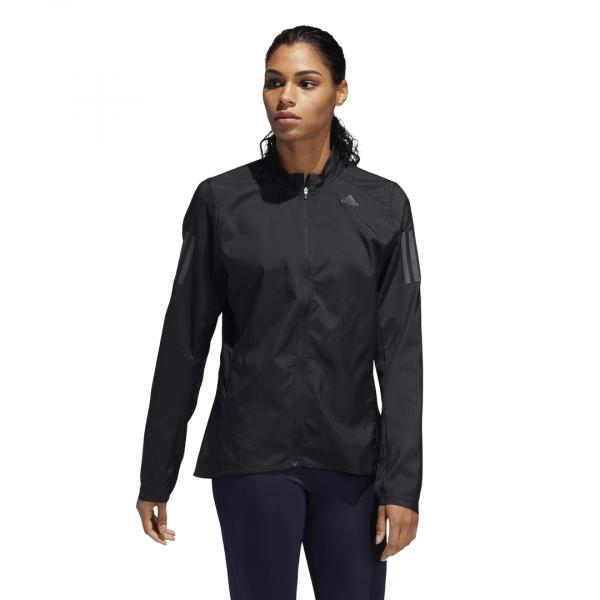 Womens Adidas Own The Run Jacket Black-9567