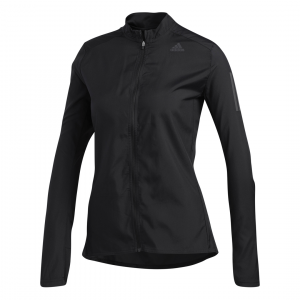 Womens Adidas Own The Run Jacket Black-0