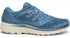 Womens Saucony Guide ISO 2 Blue-0