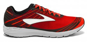 Mens Brooks Asteria Red/Black-0