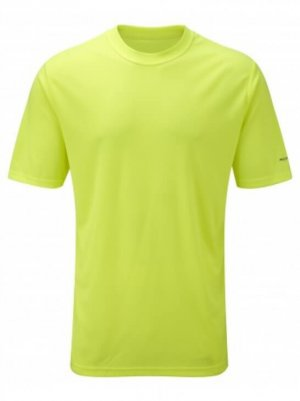Mens Ronhill Everyday Tee Fluo Yellow-0