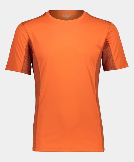 Mens CMP Tee Orange-0