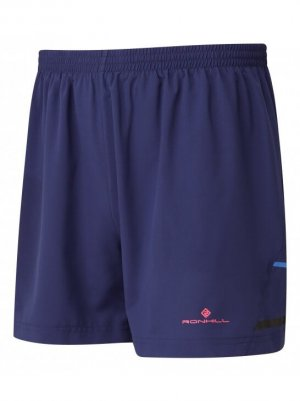 "Mens Ronhill Stride 5"" Short Blue-0"
