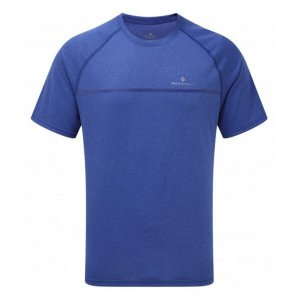 Mens Ronhill Everyday S/S Tee Blue-0