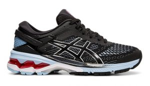 Womens Asics Kayano 26 Black/Blue-0