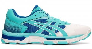 Womens Asics Gel netburner Academy 8 Ice Mint-0