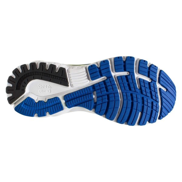 Mens Brooks Adrenaline GTS 19 2E Width Blue/Yel-10133