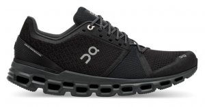 Mens On Cloudstratus Black-0