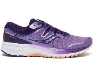 Womens Saucony Omni ISO 2 Purple-0