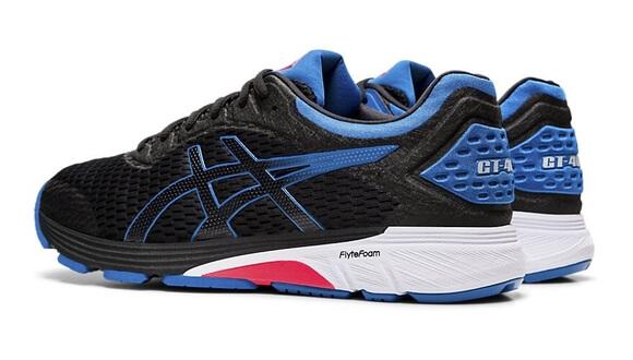 Mens Asics GT-4000 Black/Blue-10428