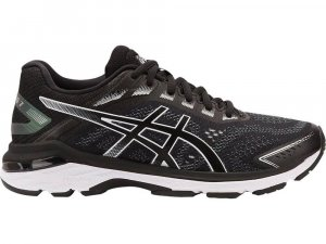 Womens Asics GT-2000 7 Black/White-0