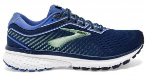 Womens Brooks Ghost 12 Blue-0